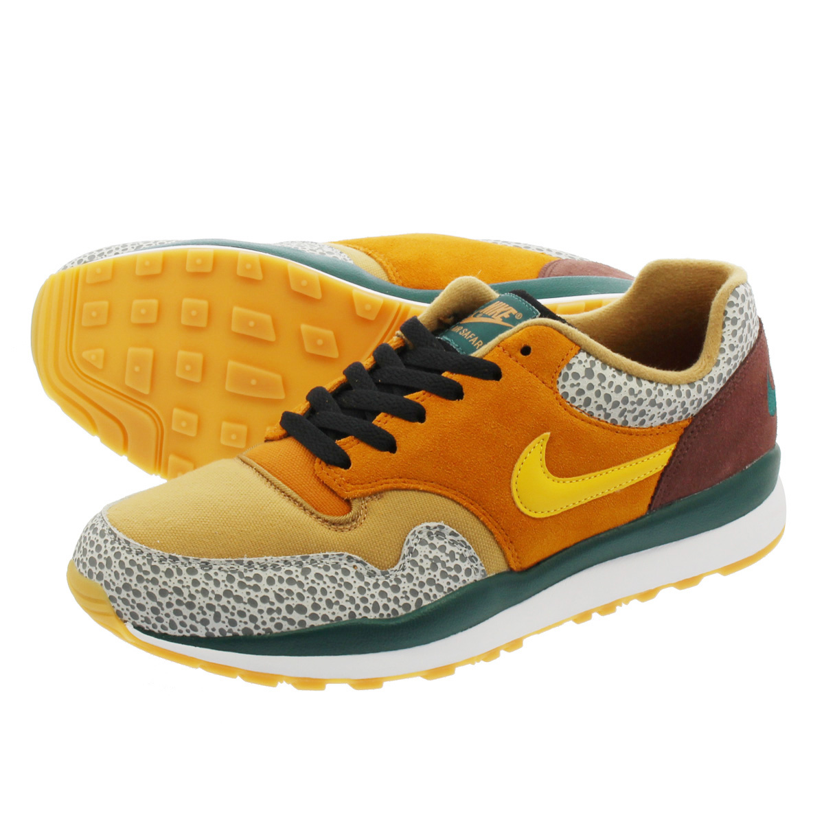 NIKE AIR SAFARI SE ナイキ エア サファリ SE MONARCH/FLAX/MAHOGANY MINK/YELLOW OCHRE ao3298-800