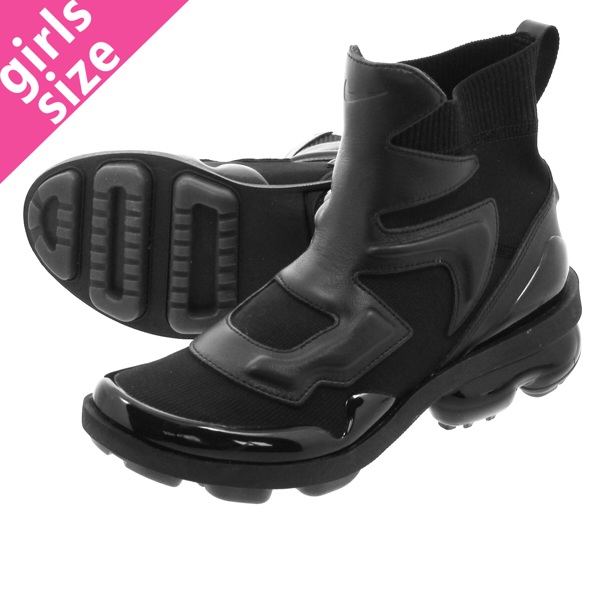 fec2be459a29c NIKE WMNS AIR VAPORMAX LIGHT II Nike women air vapor max light 2  BLACK BLACK BLACK ao4537-001