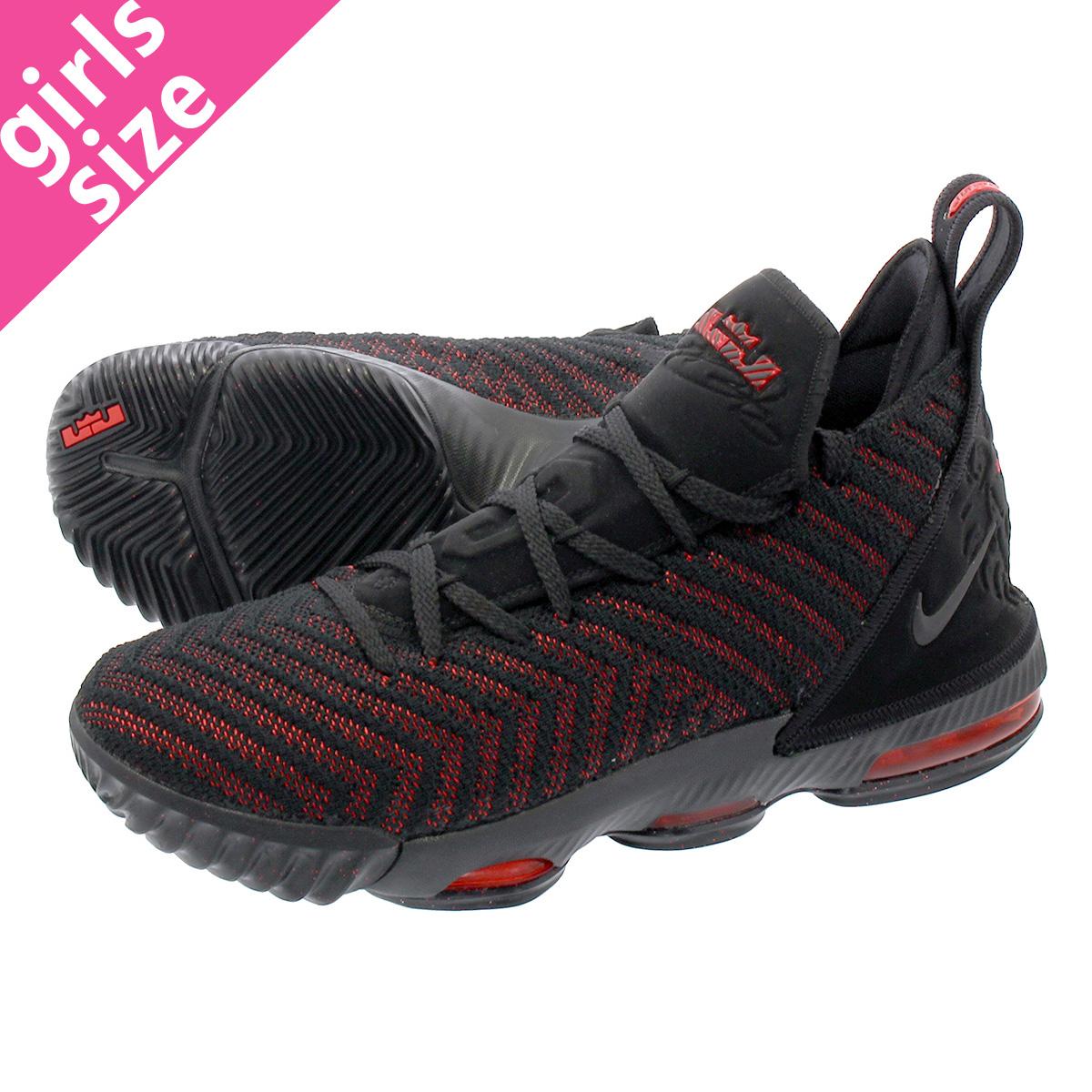 best cheap 86bbb 8af8a NIKE LEBRON 16 GS Nike Revlon 16 GS BLACK/UNIVERSITY RED aq2465-002