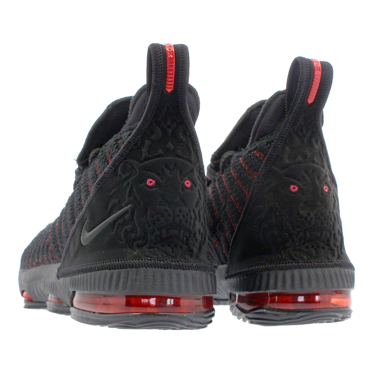 best cheap bc5ad 3e2ce NIKE LEBRON 16 GS Nike Revlon 16 GS BLACK/UNIVERSITY RED aq2465-002