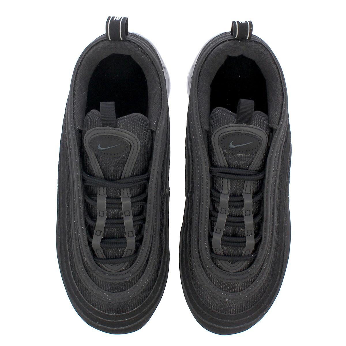 NIKE AIR VAPORMAX 97 GS Nike air vapor max 97 GS BLACKBLACK aq2657 001