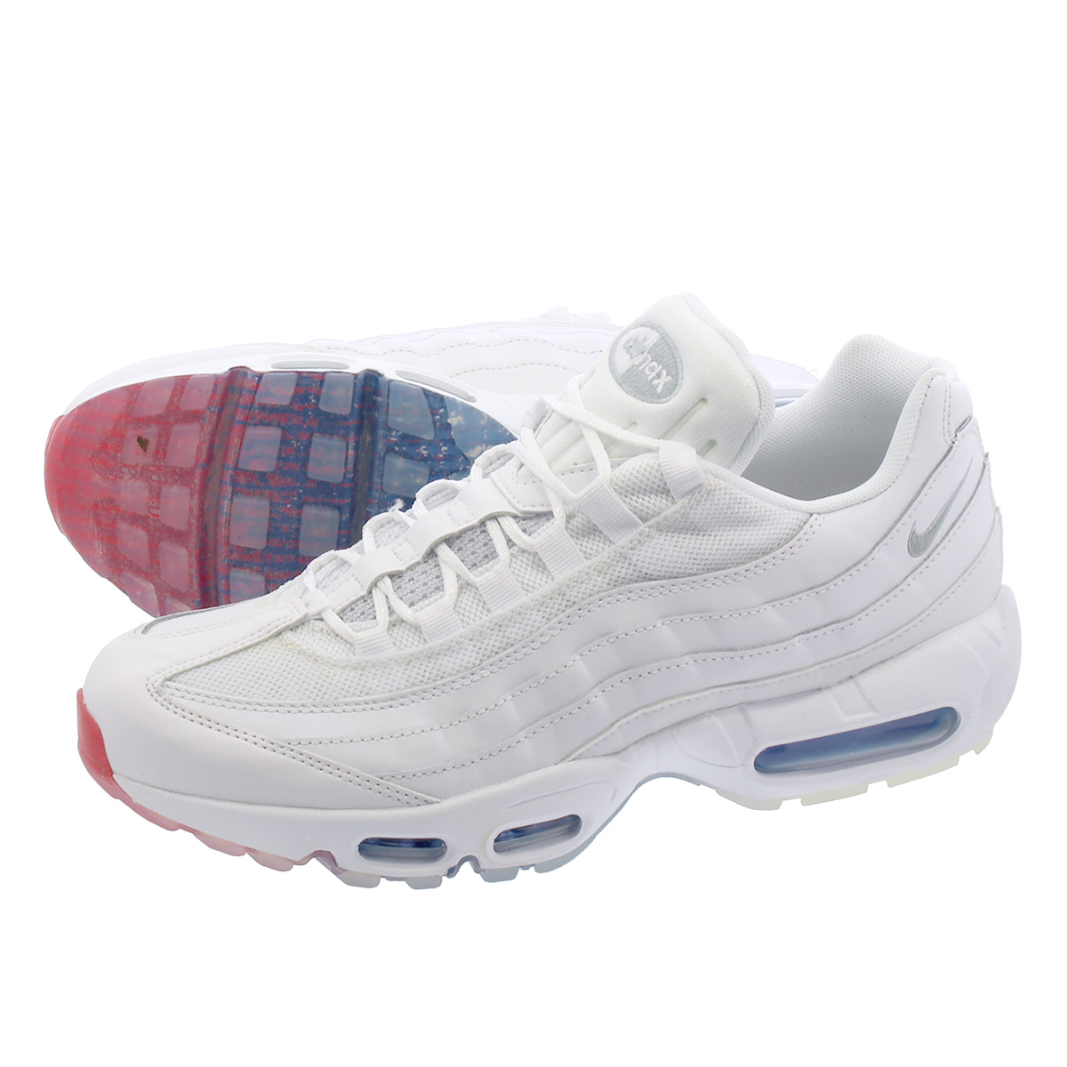 low priced 03475 be339 NIKE AIR MAX 95 Kie Ney AMAX 95 WHITE/PHOTO BLUE aq7981-100