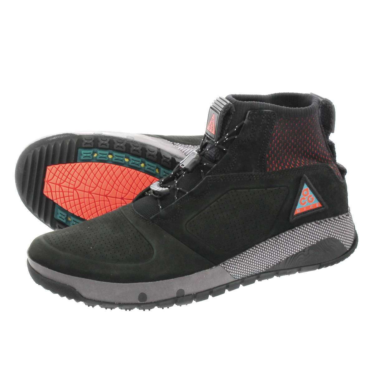 huge discount 9ff6a d537c NIKE ACG RUCKEL RIDGE Nike ACG ラックルリッジ BLACK GEODE TEAL HABANERO RED  aq9333-002