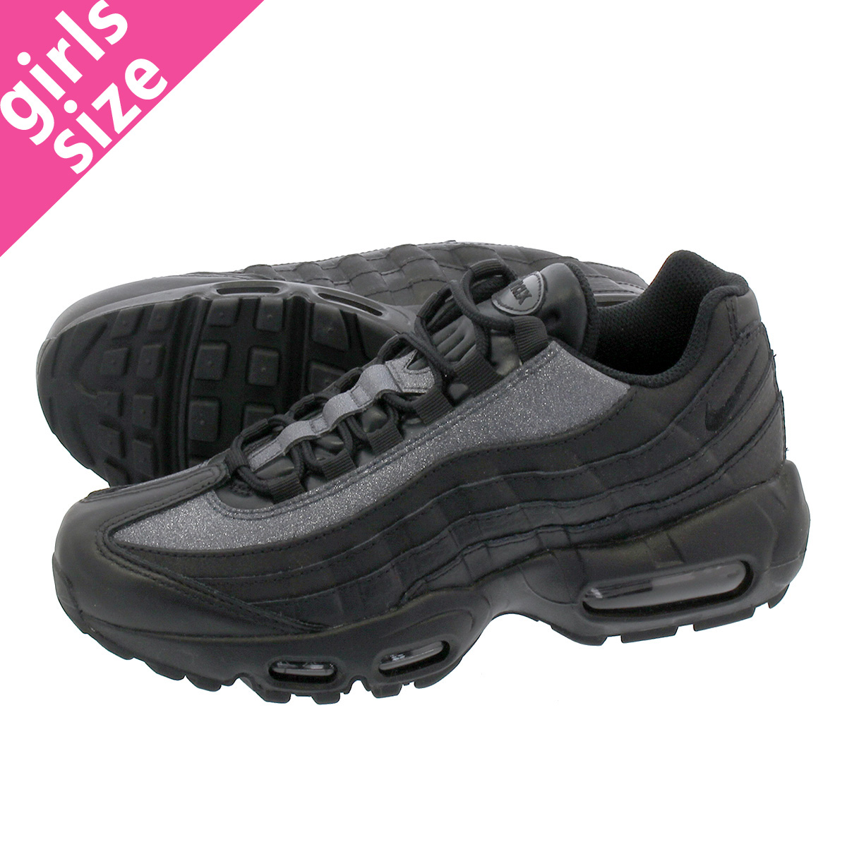 NIKE WMNS AIR MAX 95 SE Nike women Air Max 95 SE BLACK at0068 001