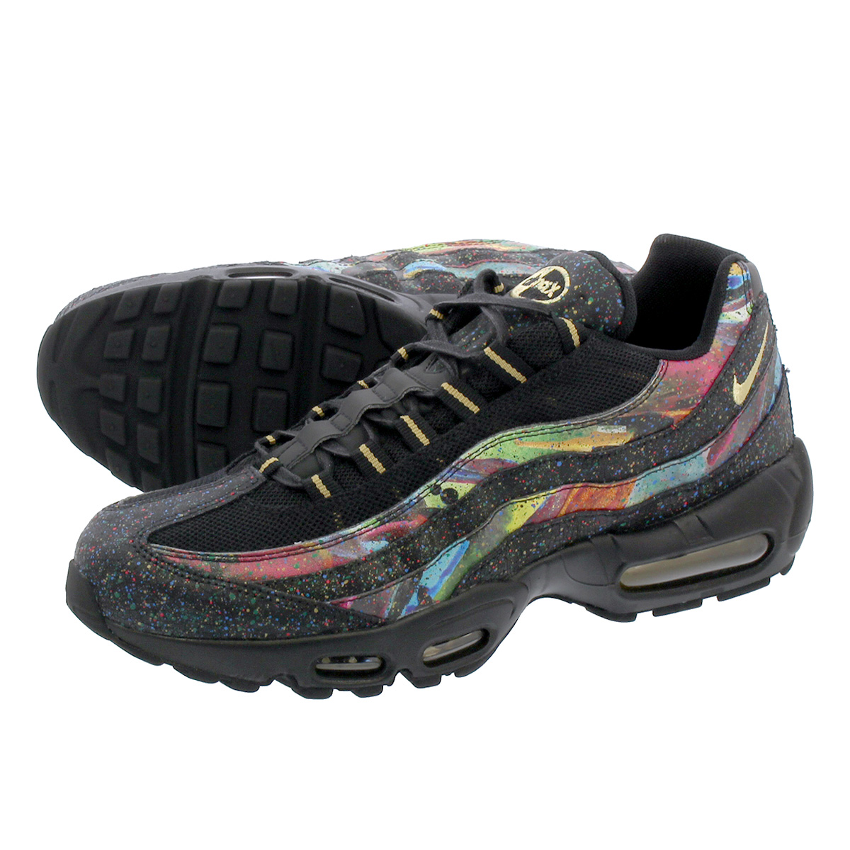 new style d4c30 49e0d NIKE AIR MAX 95 NS GPX Kie Ney AMAX 95 NS GPX BLACK/METALLIC GOLD at6142-001
