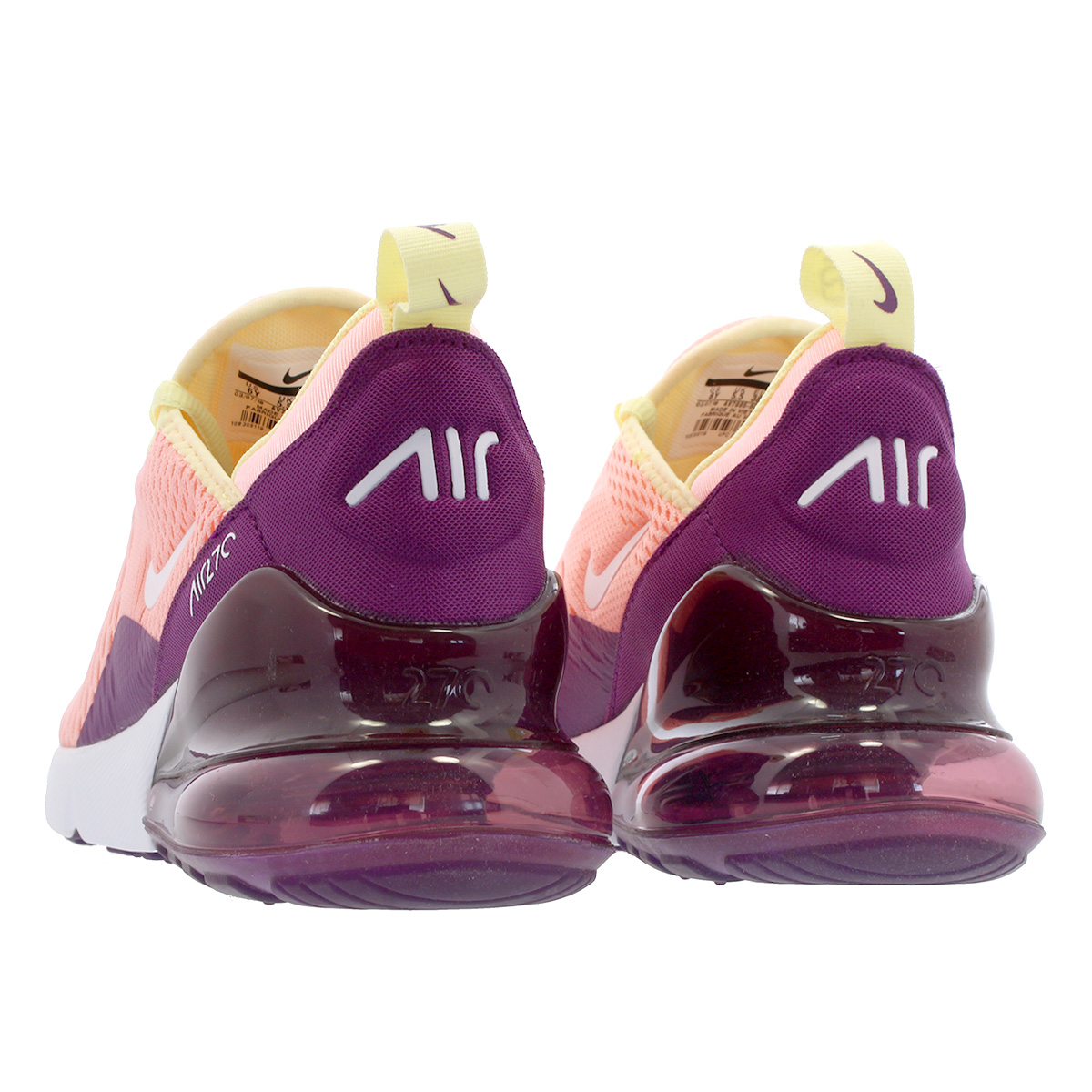 Clothing, Shoes & Accessories Nike Air Max 270 Pink White