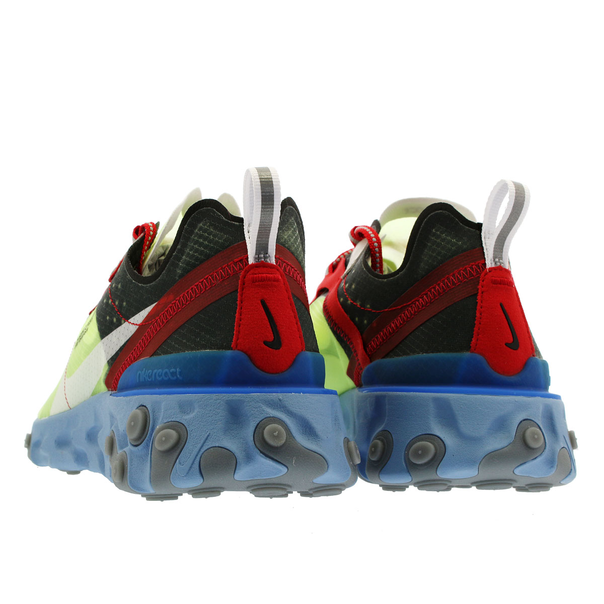 80d5ef5f5691 NIKE X UNDERCOVER REACT ELEMENT 87 Nike under cover re-act element 87 VOLT UNIVERSITY  RED BLACK WHITE SUMMIT WHITE bq2718-700