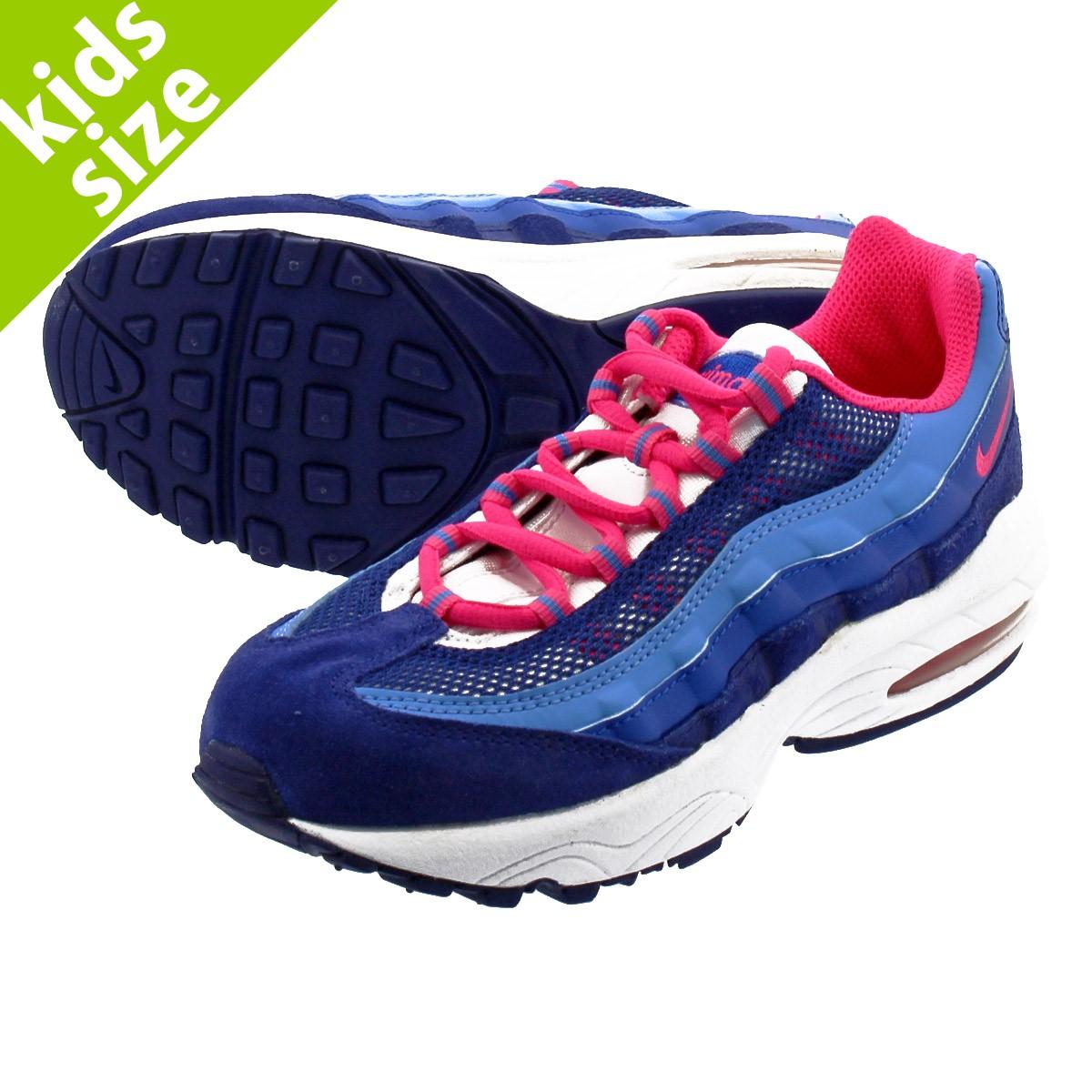 hot sale online 652d1 53659 NIKE AIR MAX 95 PS Kie Ney AMAX SE PS DEEP ROYAL BLUE/HYPER  PINK/UNIVERSITYBLUE 310,831-401
