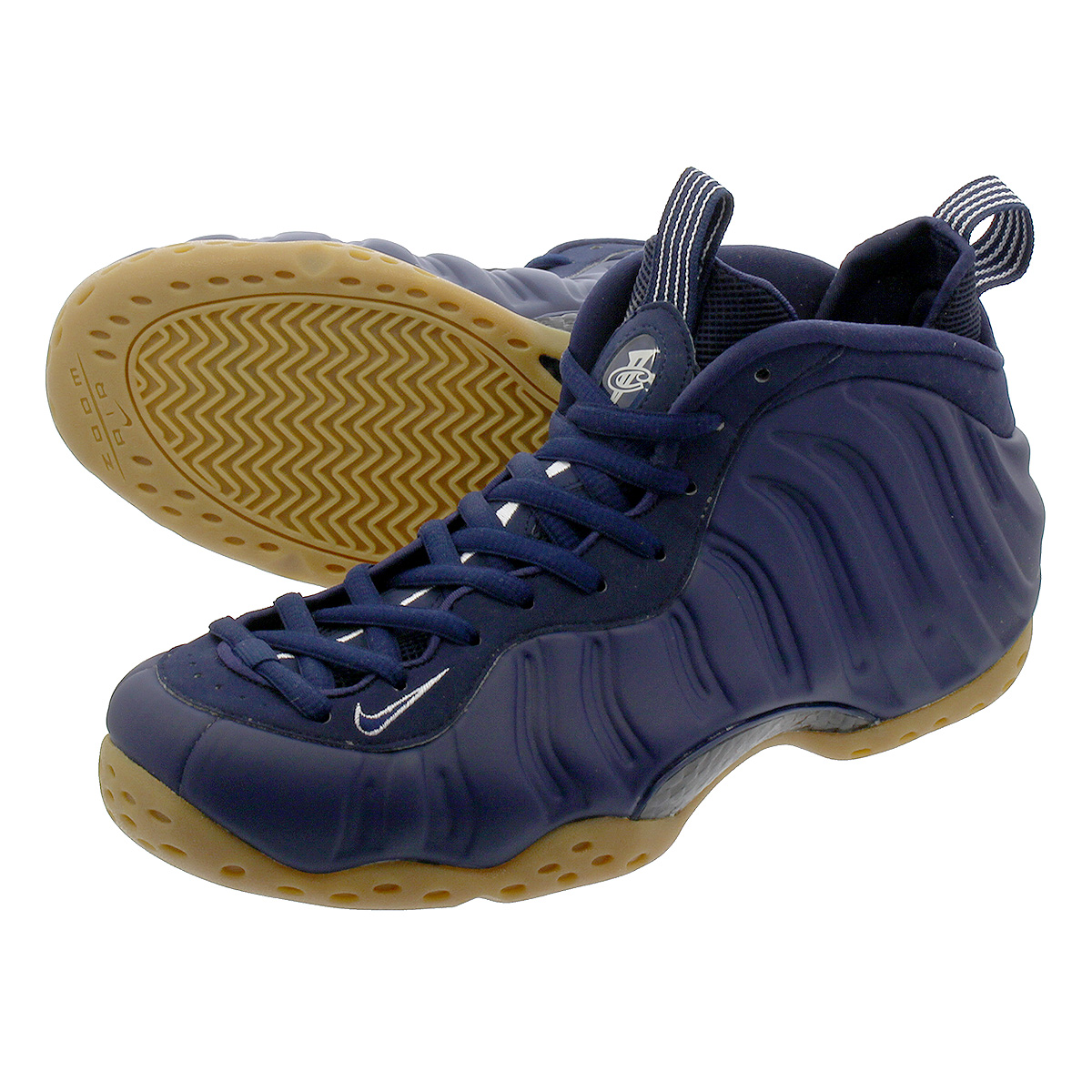 promo code 5bf21 0e0f6 NIKE AIR FOAMPOSITE ONE ナイキエアフォームポジットワン MIDNIGHT NAVY/GUM LIGHT BROWN  314,996-405