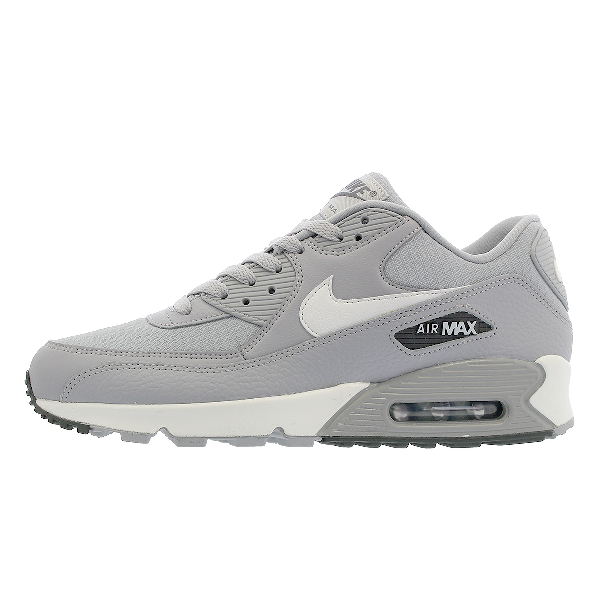 Details about Nike Air Max 90 (Wolf Grey Summit White) Running [325213 062] Wmns Sz 6 10