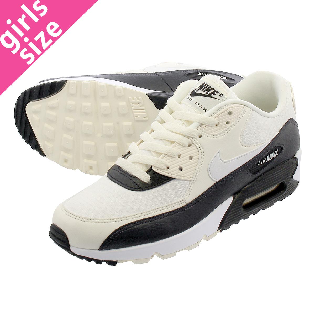 NIKE WMNS AIR MAX 90 Nike women Air Max 90 PALE IVORYSUMMIT WHITEBLACKOIL GREY 325,213 138