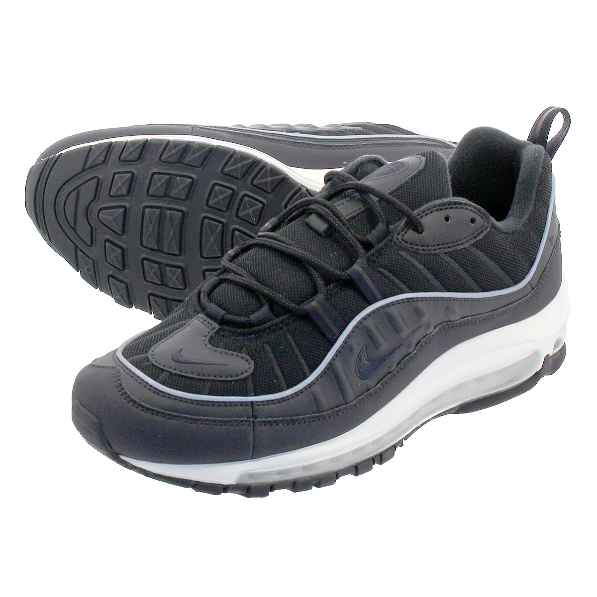 LOWTEX PLUS  NIKE AIR MAX 98 Kie Ney AMAX 98 OIL GREY BLACK SUMMIT ... 5e88331f378d
