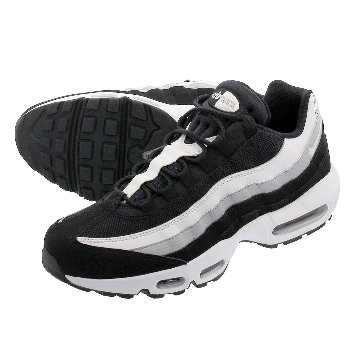 Nike Air Max 95 Essential Czarny Wilk Szary BiałY
