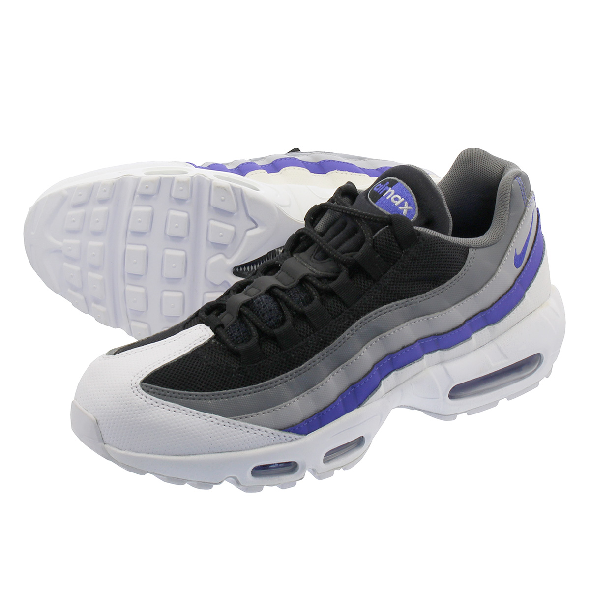 nike AIR MAX 95 ESSENTIAL WHITEPERSIAN VIOLET COOL GREY