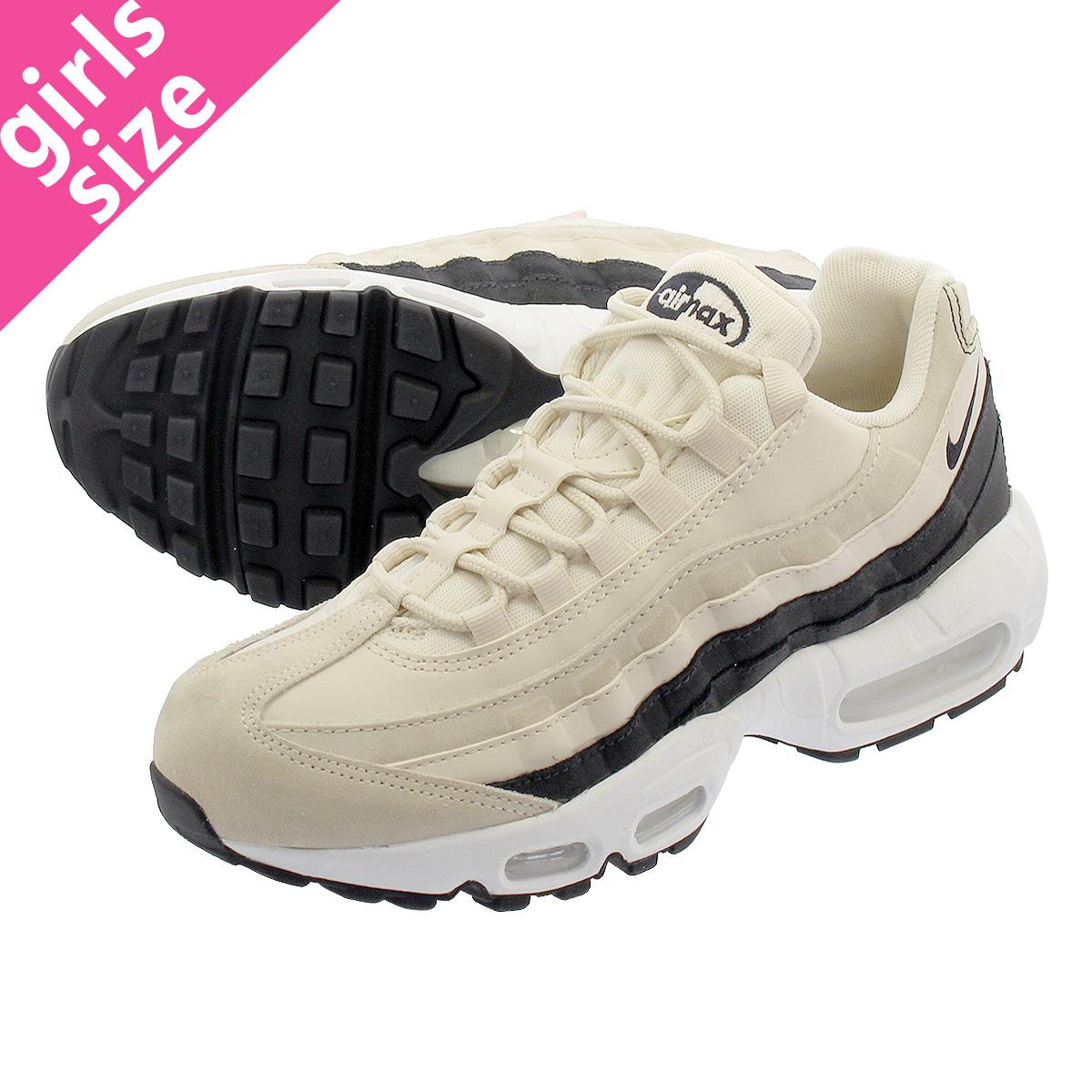 acheter populaire 01e8d b85b3 NIKE WMNS AIR MAX 95 PRM Nike women Air Max 95 premium LIGHT CREAM/OIL  GREY/SUMMIT WHITE 807,443-203