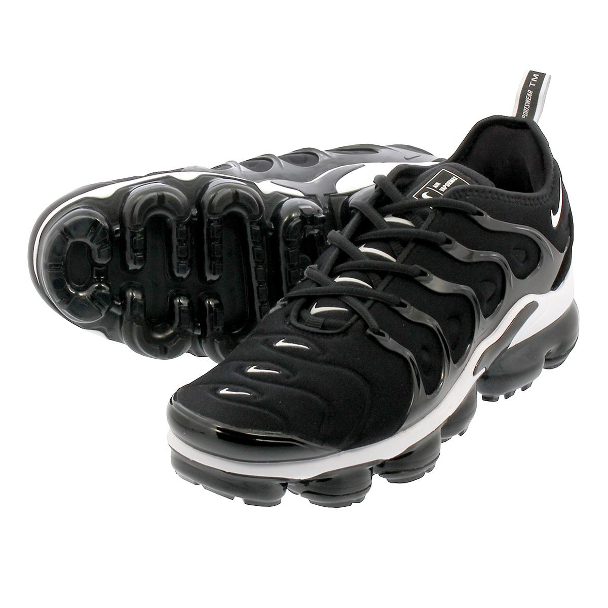 uk availability 3ed91 4e7b5 NIKE AIR VAPORMAX PLUS Nike vapor max plus BLACK/WHITE 924,453-011