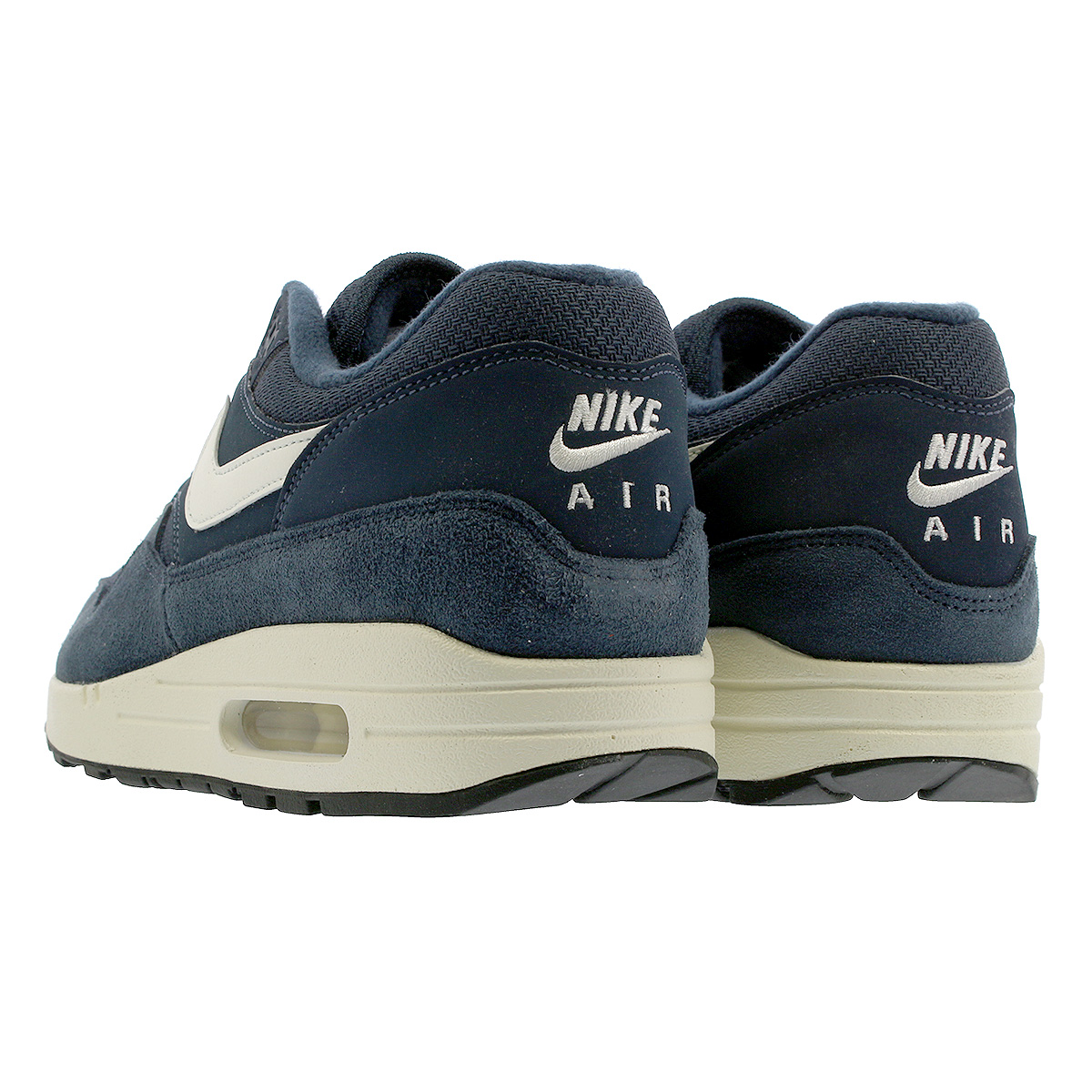 the latest f8911 db785 NIKE AIR MAX 1 Kie Ney AMAX 1 ARMORY NAVY SAIL SAIL BLACK ah8145-401