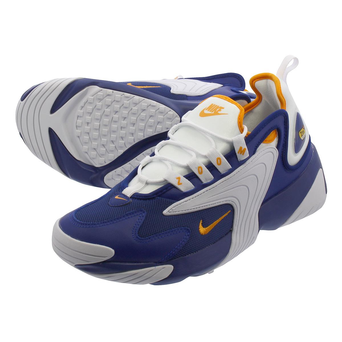 brand new 83a91 e792d NIKE ZOOM 2K Nike zoom 2K DEEP ROYAL BLUE ORANGE PEEL WHITE ao0269- ...