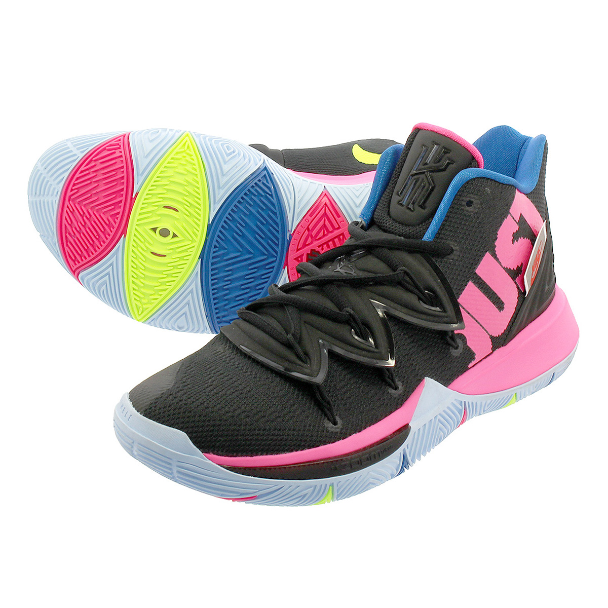 2e1105965b57 LOWTEX PLUS  NIKE KYRIE 5 Nike chi Lee 5 BLACK VOLT HYPER PINK ...