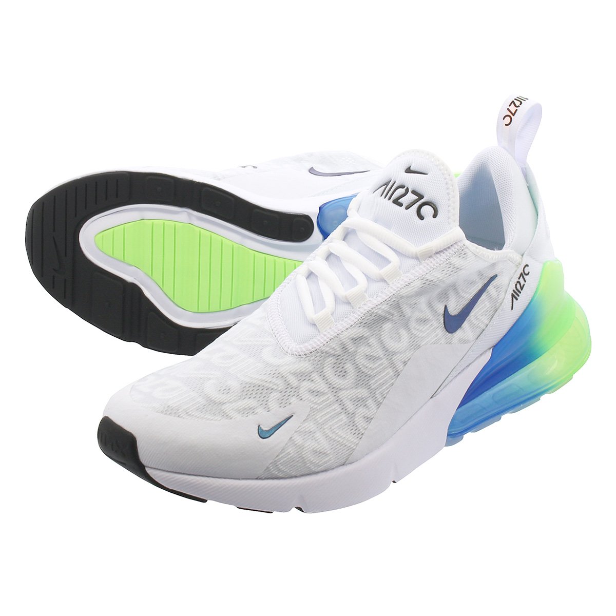 NIKE Kie Ney AMAX 270 sneakers men AIR MAX 270 SE white white AQ9164 100