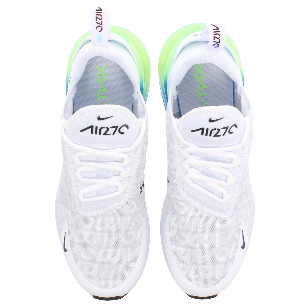 best cheap 80398 b5c24 NIKE AIR MAX 270 SE Kie Ney AMAX 270 SE WHITE LIME BLAST PHOTO BLUE WHITE  aq9164-100
