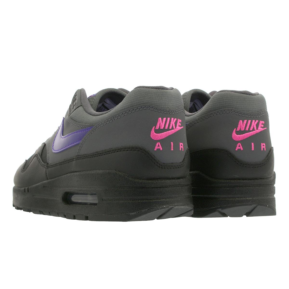Nike Air Max 1 Black Grey Purple AR1249 002 | Trainers