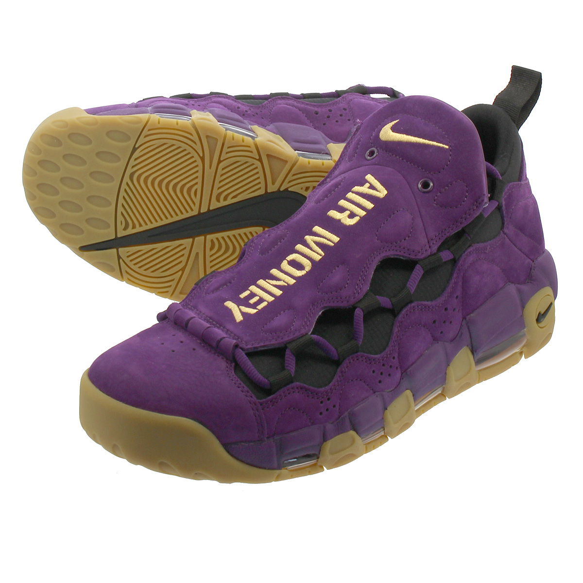 NIKE AIR MORE MONEY ナイキ エア モア マネー NIGHT PURPLE/METALLIC GOLD/BLACK ar5401-500