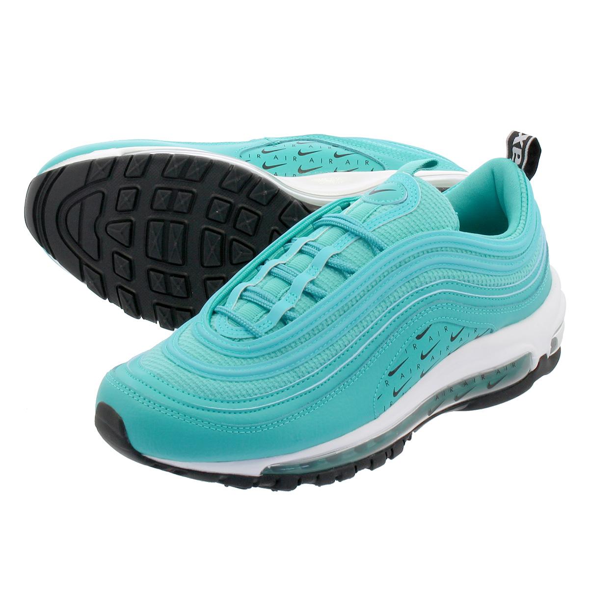 detailed look 9e5cb ad4c4 NIKE WMNS AIR MAX 97 LX Nike women Air Max 97 LX HYPER JADE HYPER JADE BLACK WHITE  ar7621-300