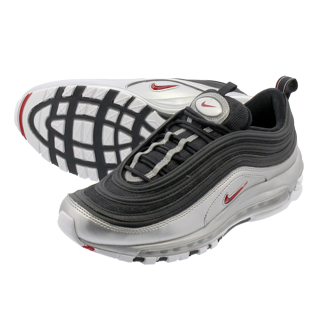 Nike Men Air Max 97 Qs (white varsity red metallic silver black)