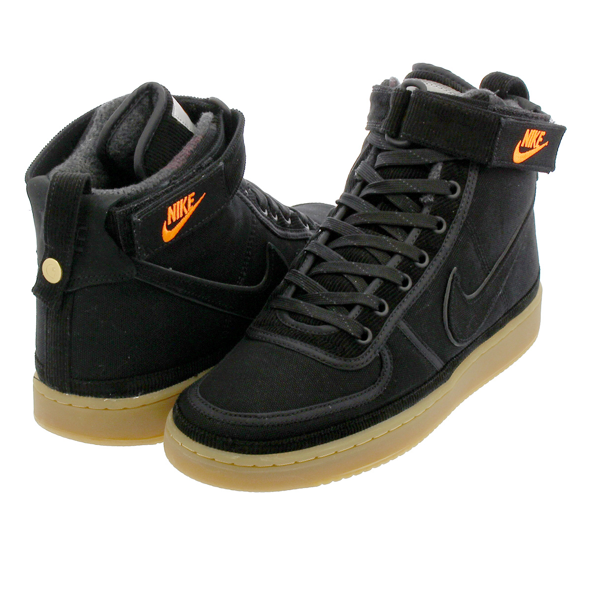 NIKE × CARHARTT WIP VANDAL HIGH SUPREME ナイキ × カーハート WIP バンダル ハイ サプリーム BLACK/GUM LIGHT BROWN/BLACK av4115-001
