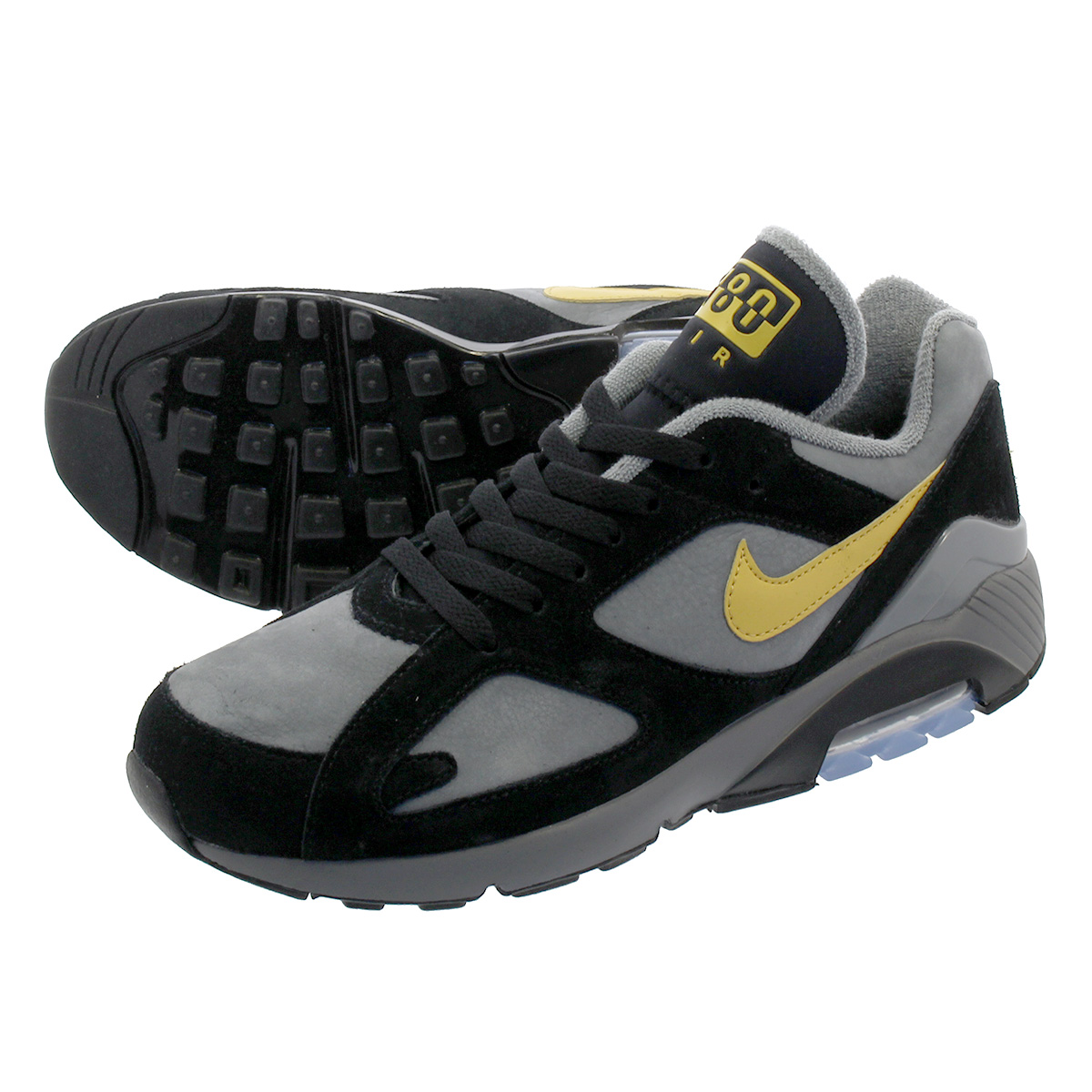 NIKE AIR MAX 180 Nike air max 180 COOL GREYWHEAT GOLDBLACK av7023 001