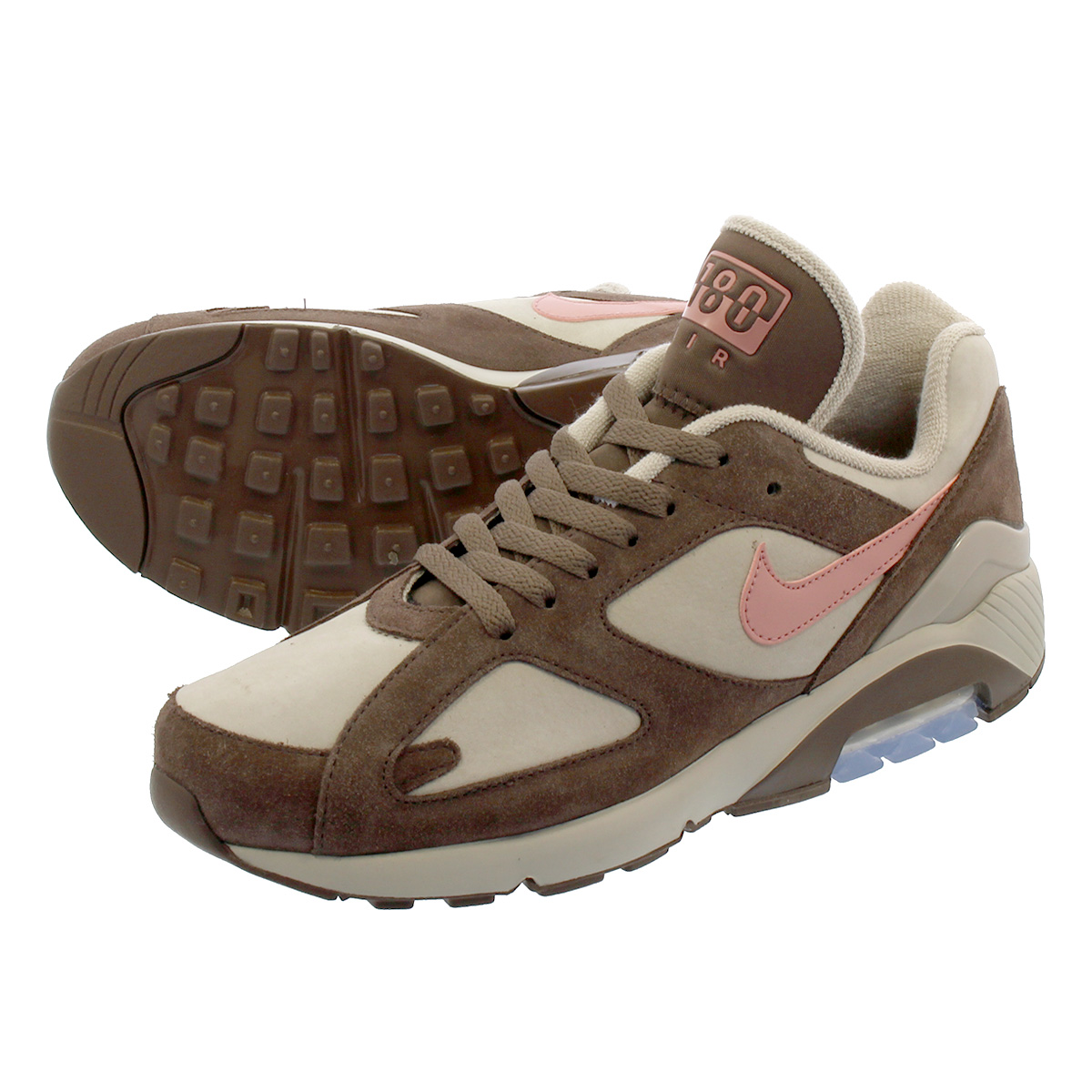 NIKE AIR MAX 180 Nike air max 180 STRINGRUST PINKBAROQUE BROWN av7023 200