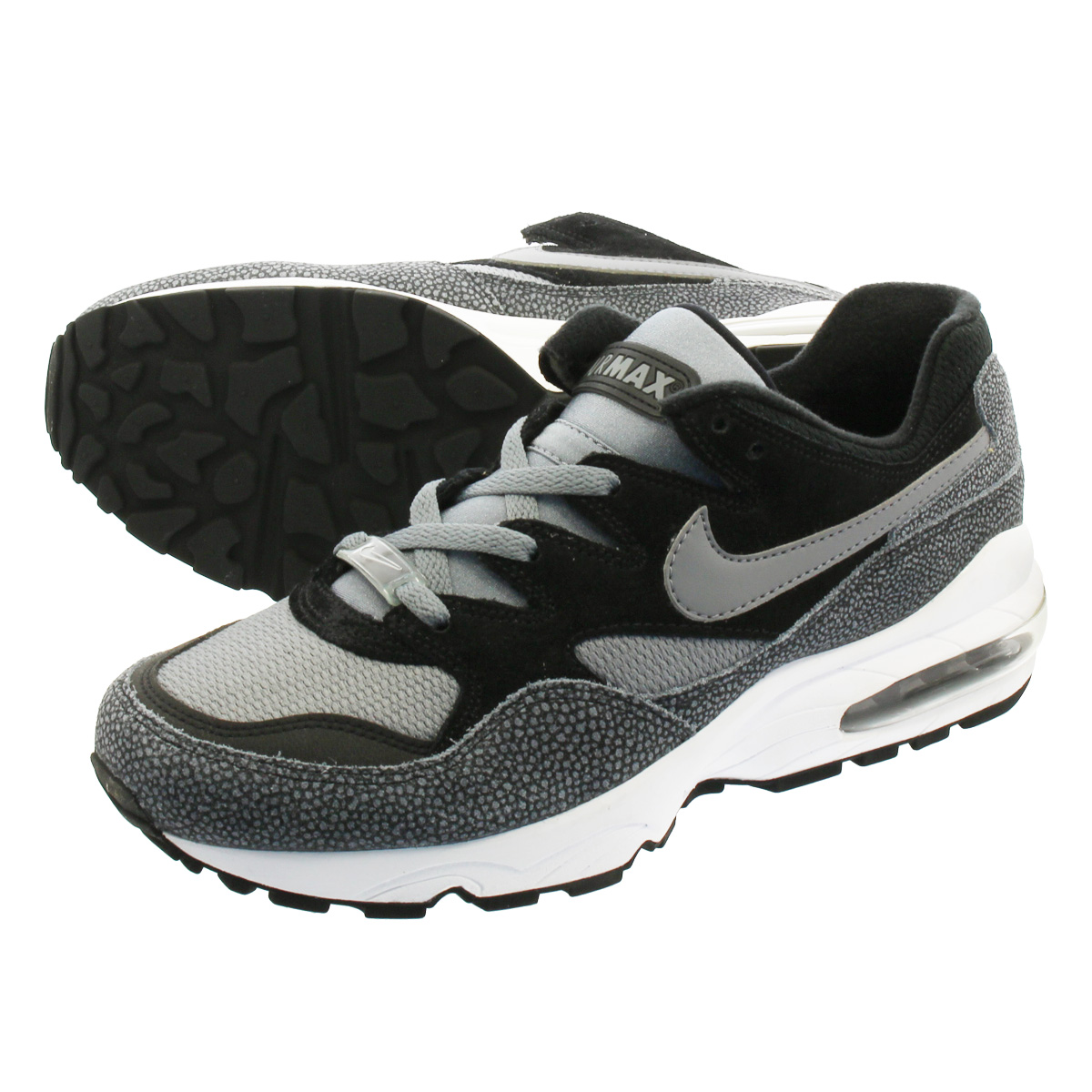 LOWTEX PLUS  NIKE AIR MAX 94 Kie Ney AMAX 94 BLACK GREY av8197-001 ... 5babe8691