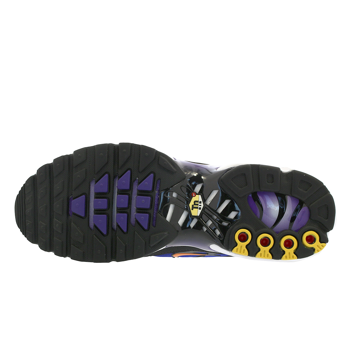 reputable site e1de7 6da94 NIKE AIR MAX PLUS OG Kie Ney AMAX plus OG BLACK/TOTAL ORANGE/VOLTAGE PURPLE