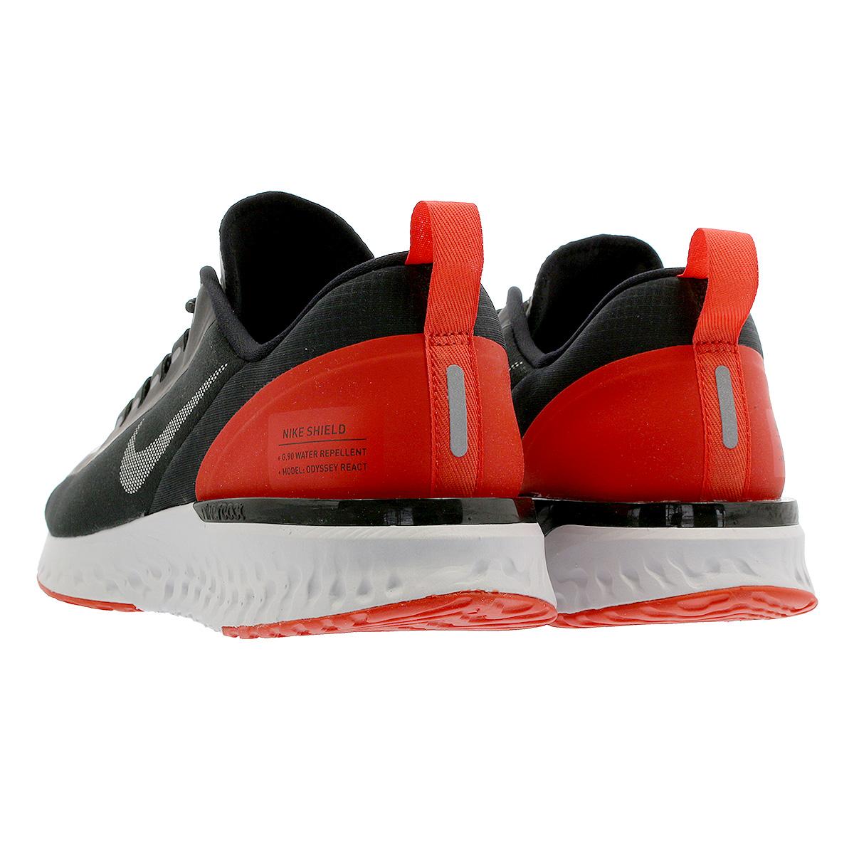 22327229f4ce NIKE ODYSSEY REACT SHIELD NRG Nike Odyssey re-act shield NRG BLACK REFLECT  SILVER HABANERO RED