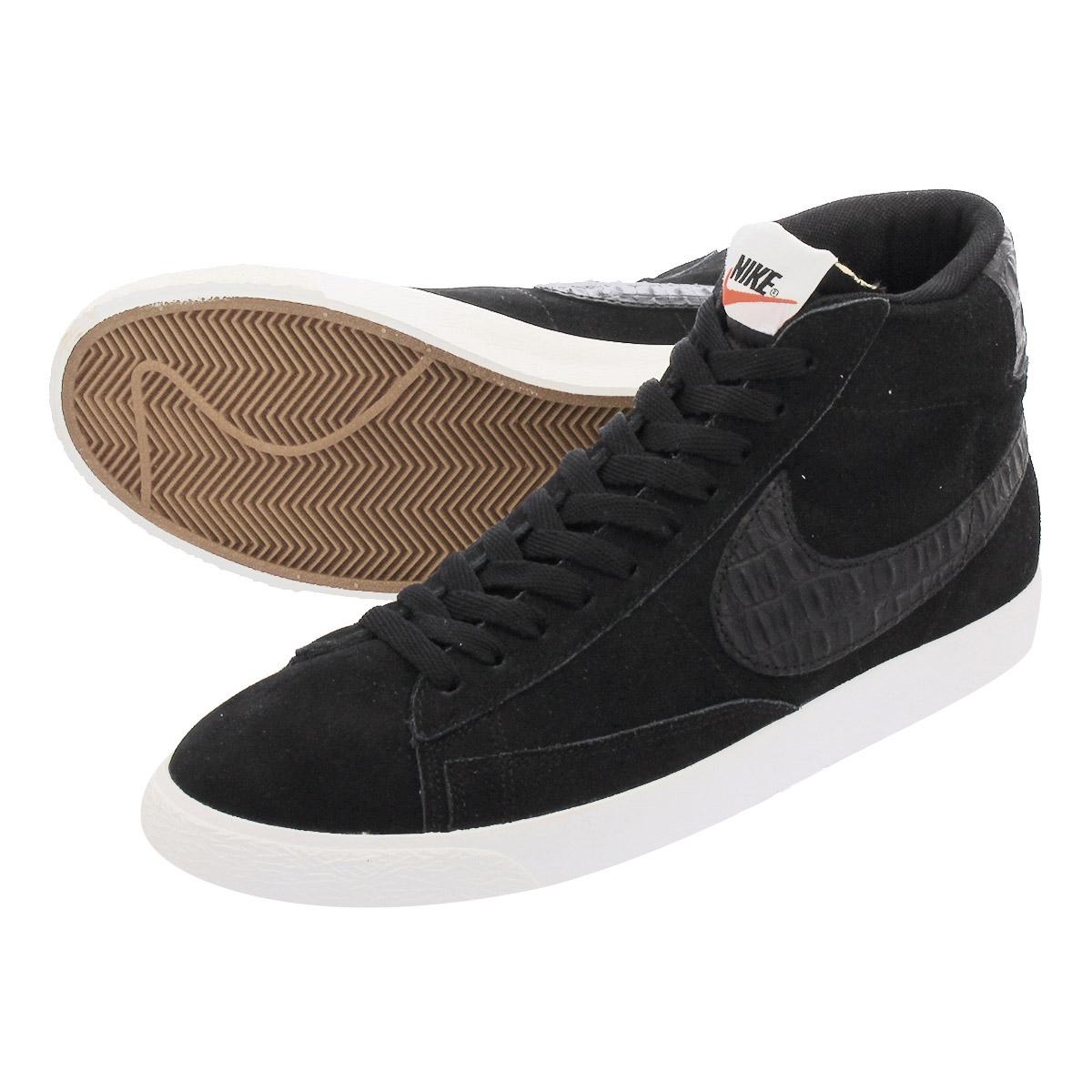 new product 04864 fd422 NIKE BLAZER MID PRM VNTG Nike blazer mid premium vintage BLACK BLACK SAIL  638,261 ...