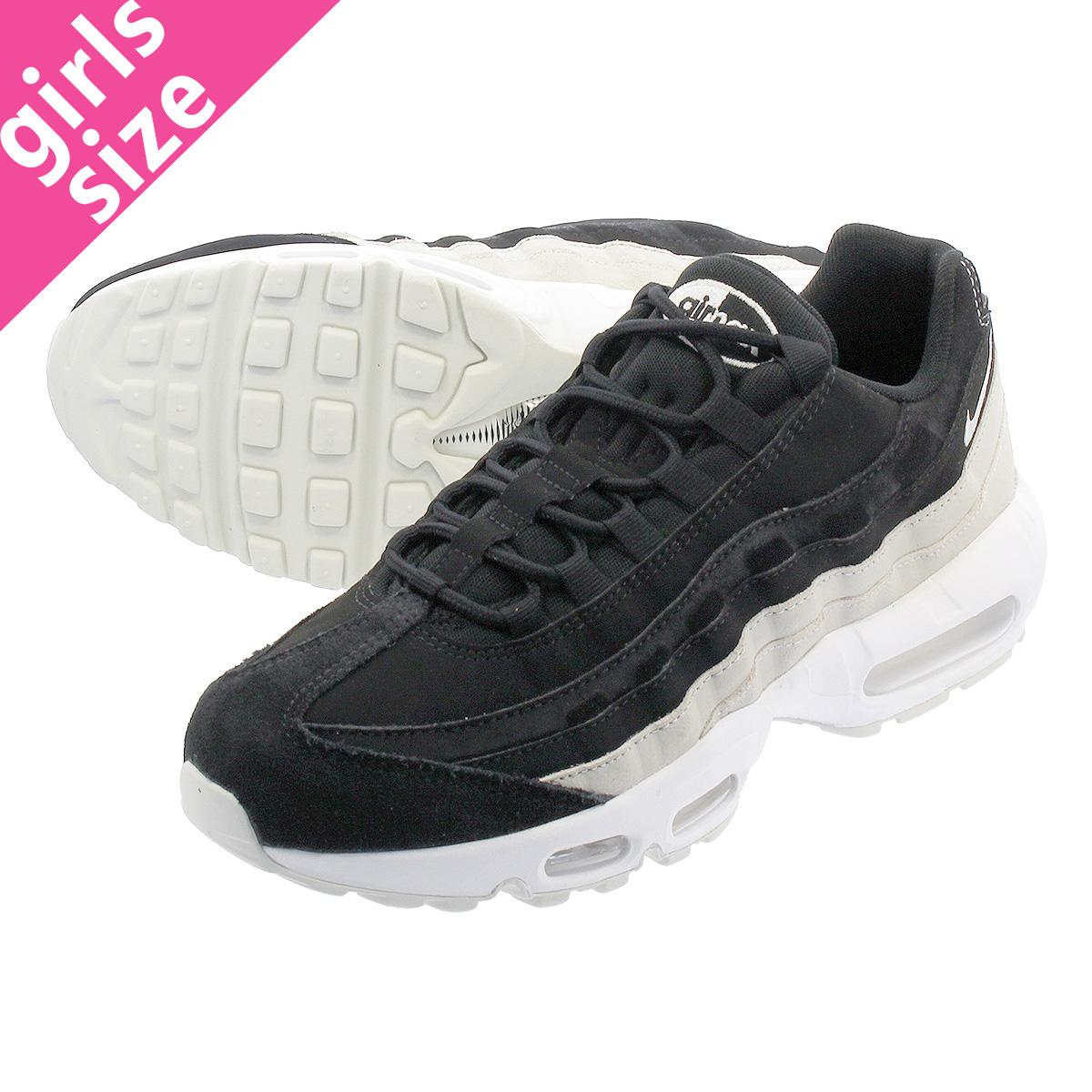 3832f00c07 NIKE WMNS AIR MAX 95 PRM Nike women Air Max 95 premium BLACK/SPRUCE AURA ...