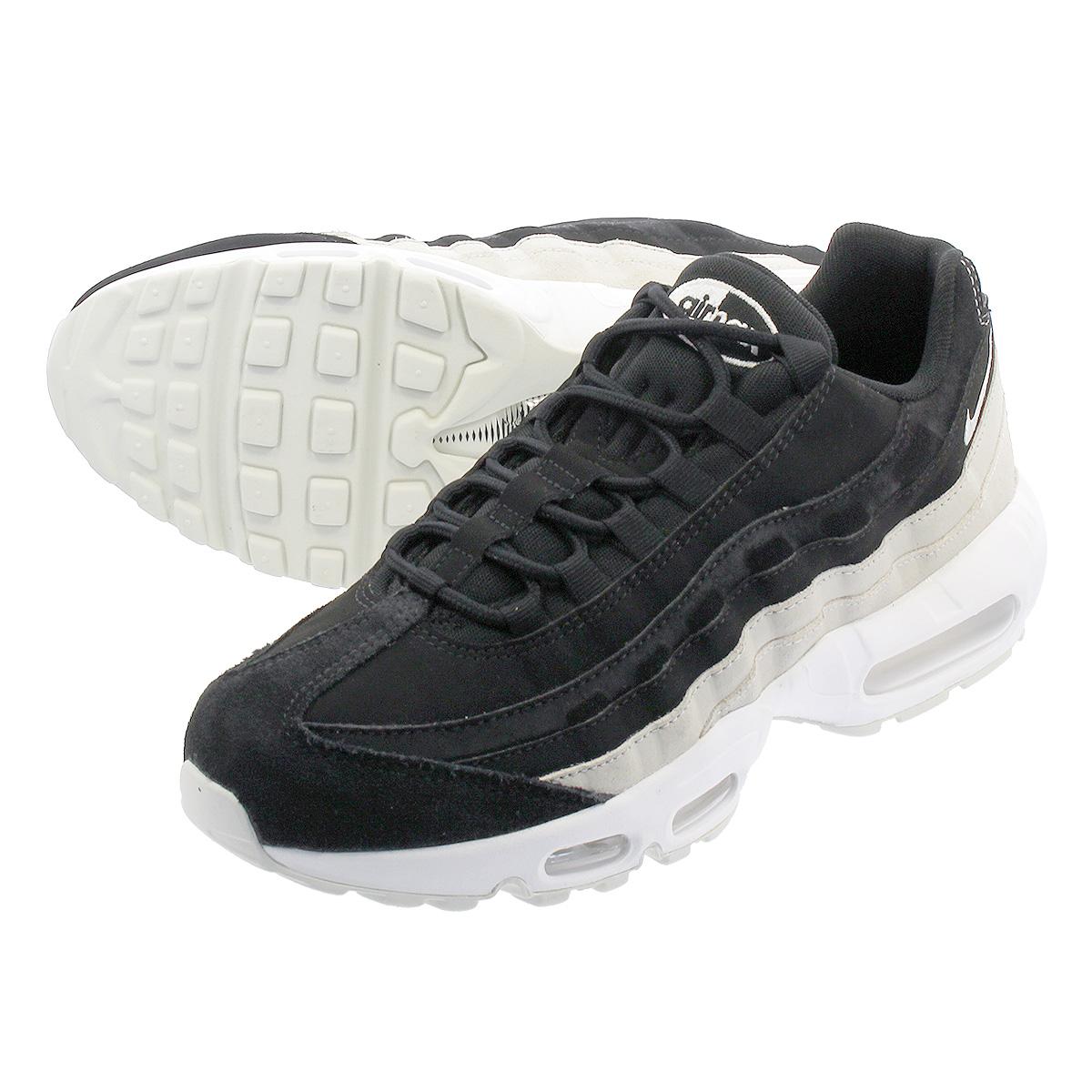NIKE WMNS AIR MAX 95 PRM Nike women Air Max 95 premium BLACKSPRUCE AURASUMMIT WHITE 807,443 017