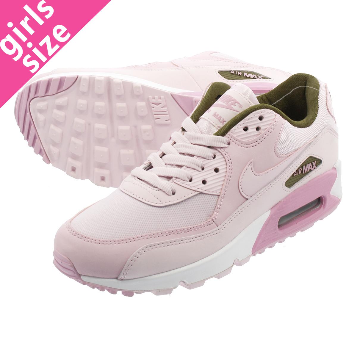 quality design c84f9 fe57a NIKE WMNS AIR MAX 90 SE Nike women Air Max 90 SE PINK/WHITE 881,105-605