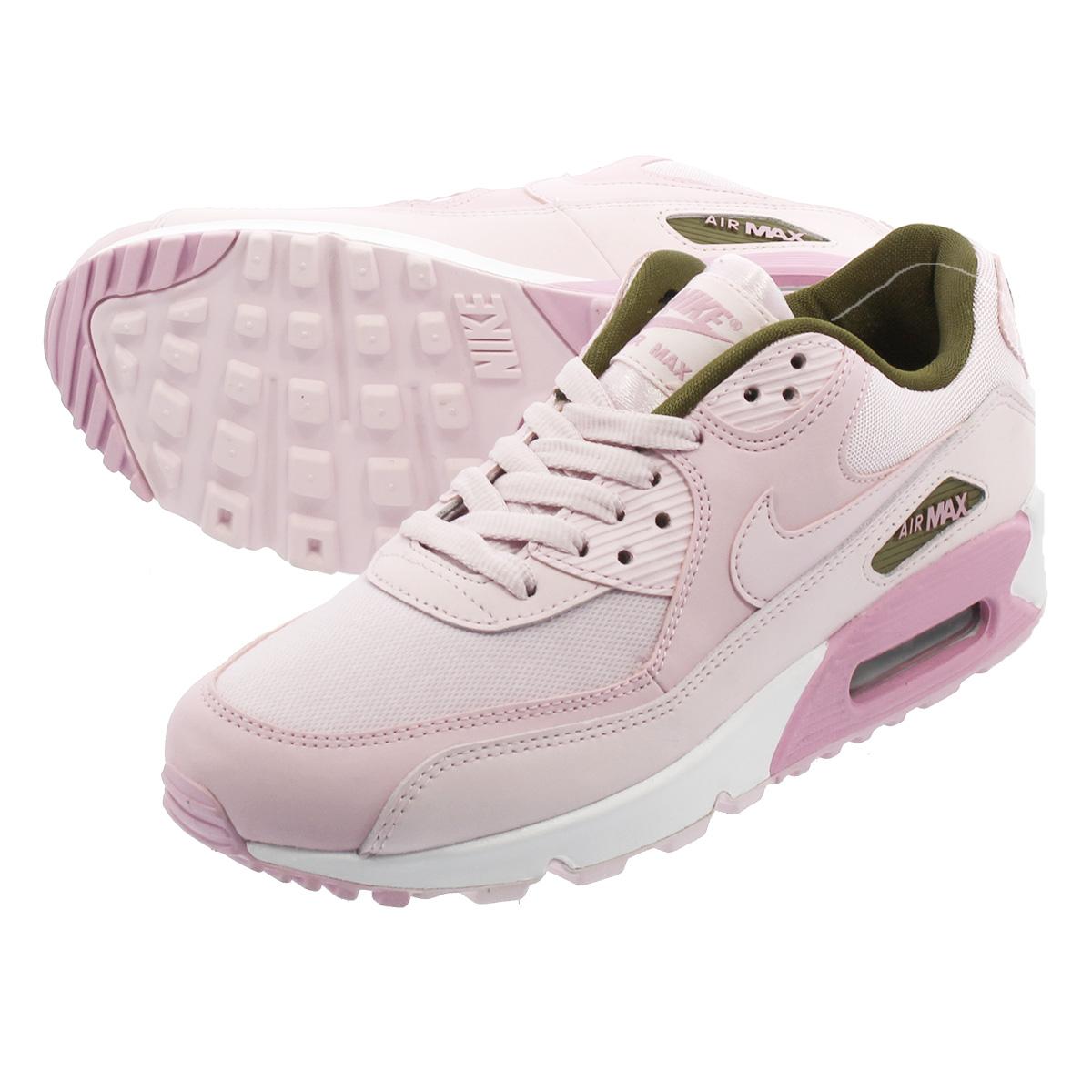 NIKE WMNS AIR MAX 90 SE Nike women Air Max 90 SE PINKWHITE 881,105 605