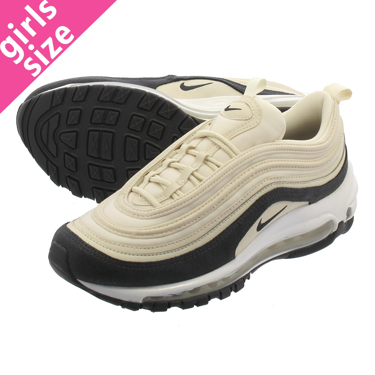 5adae99993 NIKE WMNS AIR MAX 97 PREMIUM Nike women Air Max 97 premium LIGHT CREAM/OIL  ...