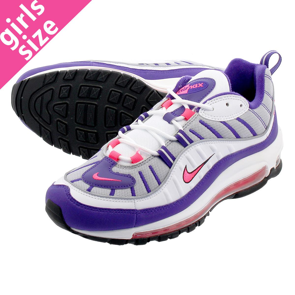 9a5708fad2370 NIKE WMNS AIR MAX 98 Nike women Air Max 98 WHITE RACER PINK REFLECT  SILVER BLACK ah6799-110