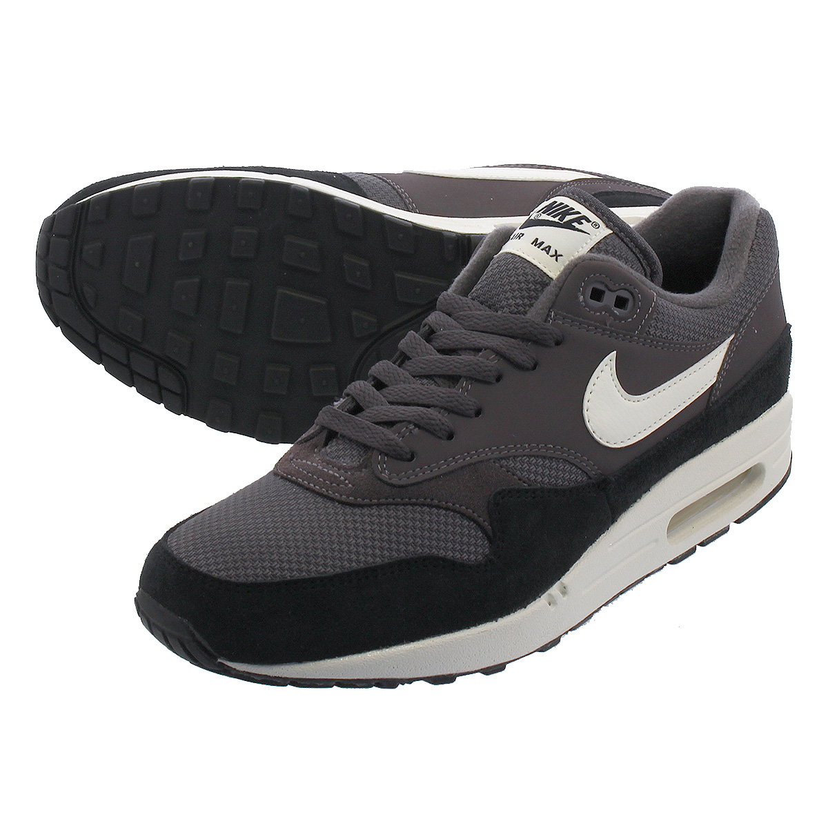 on sale cccad 09d9b NIKE AIR MAX 1 Kie Ney AMAX 1 THUNDER GREY SAIL SAIL BLACK ah8145-012