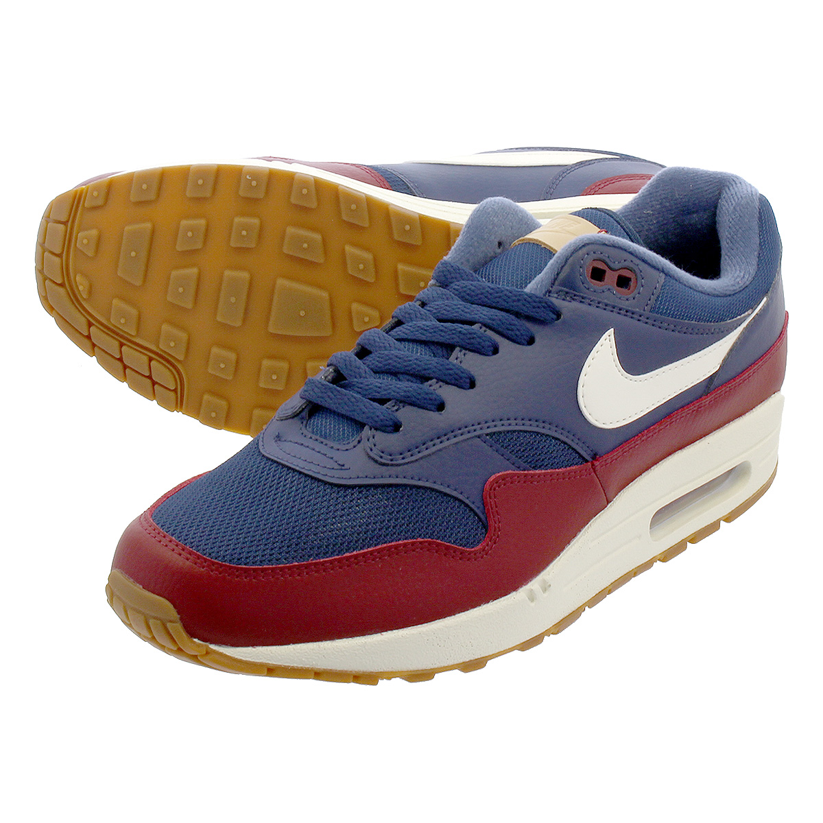 many fashionable sale retailer online here NIKE AIR MAX 1 Kie Ney AMAX 1 NAVY/TEAM RED/SAIL ah8145-400