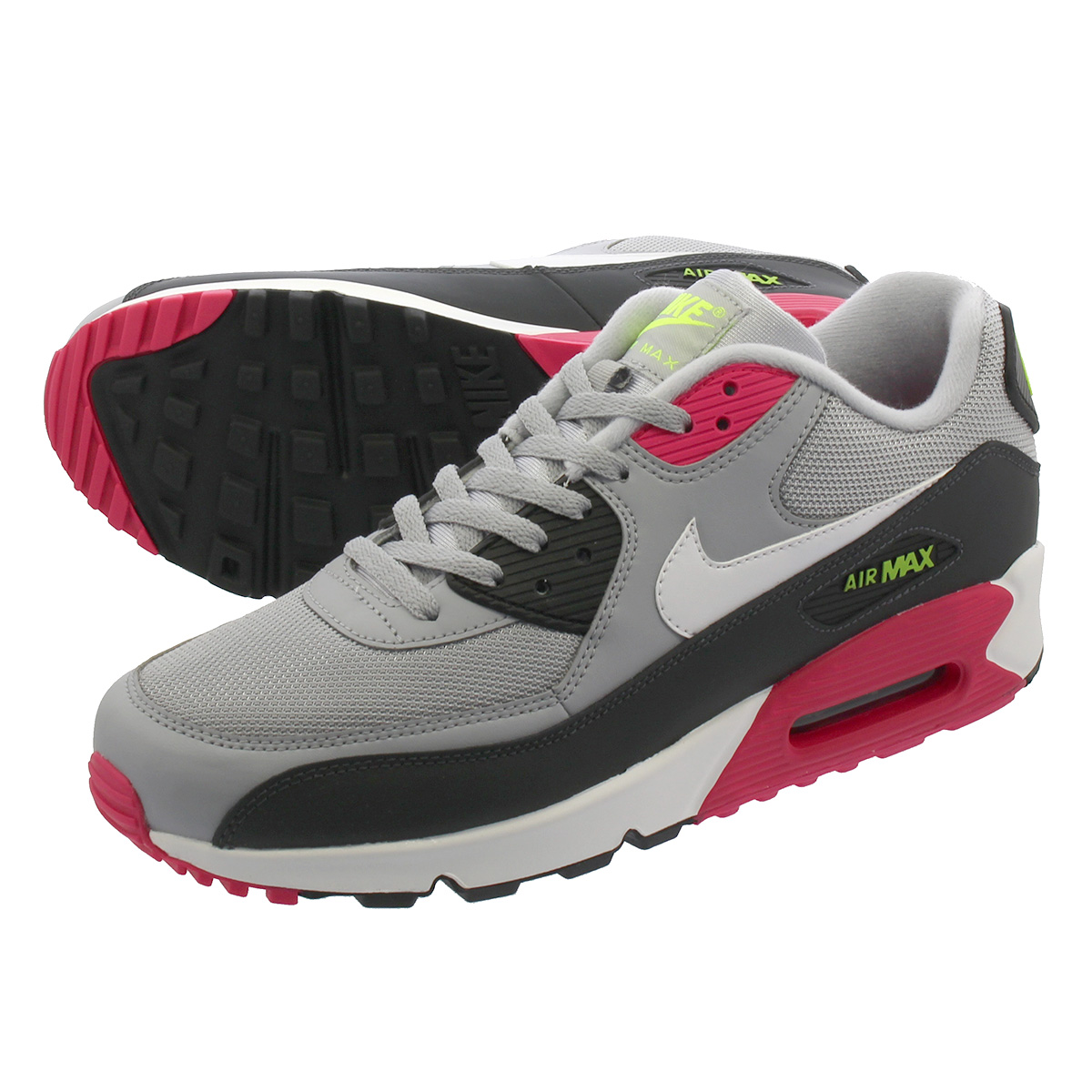 Nike Air Max 90 Essential (Cool GreyVolt) Sneaker Freaker