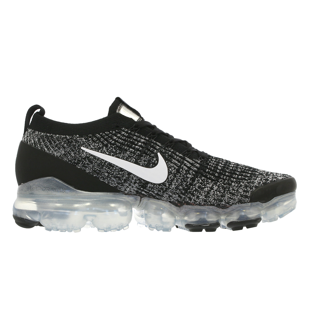 super popular bc574 5b9ee NIKE AIR VAPORMAX FLYKNIT 3 Nike vapor max fried food knit 3  BLACK/WHITE/METALLIC SILVER aj6900-002