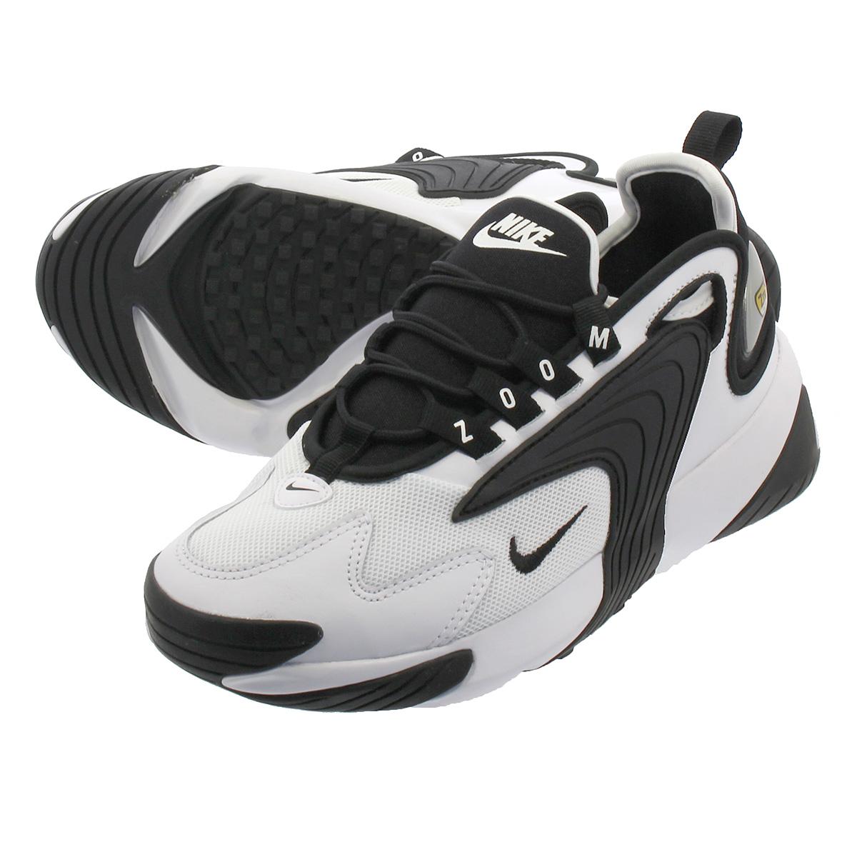 purchase cheap 48fa8 49f87 NIKE WMNS ZOOM 2K Nike women zoom 2K WHITE BLACK ao0354-100 ...