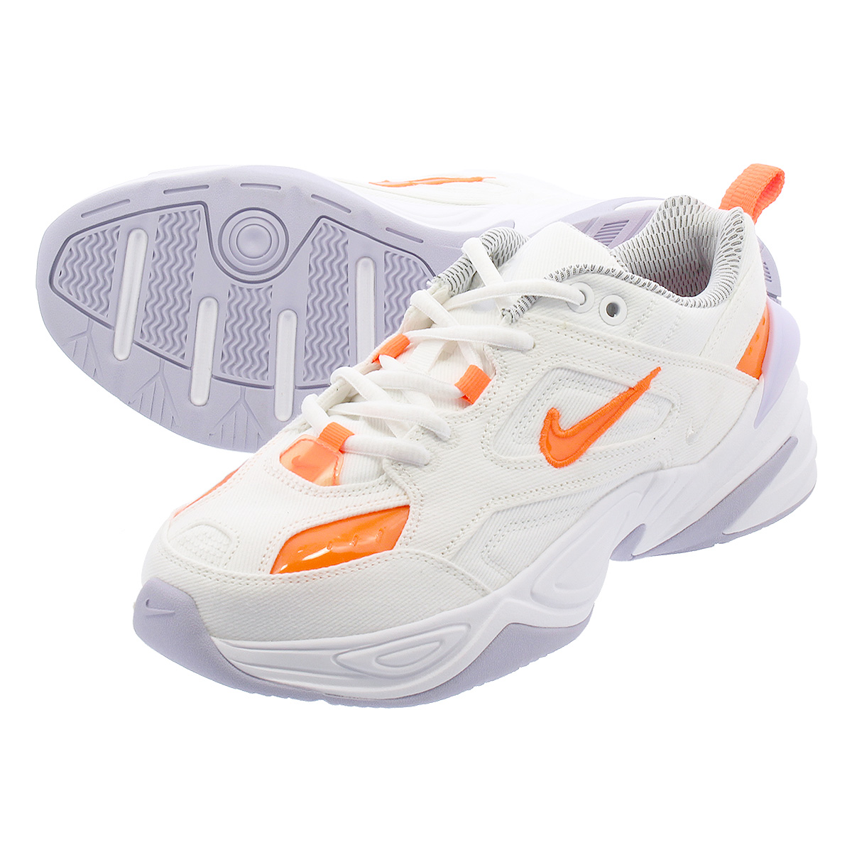 NIKE WMNS M2K TEKNO Nike women M2K techno WHITE/ORANGE bv0970-100