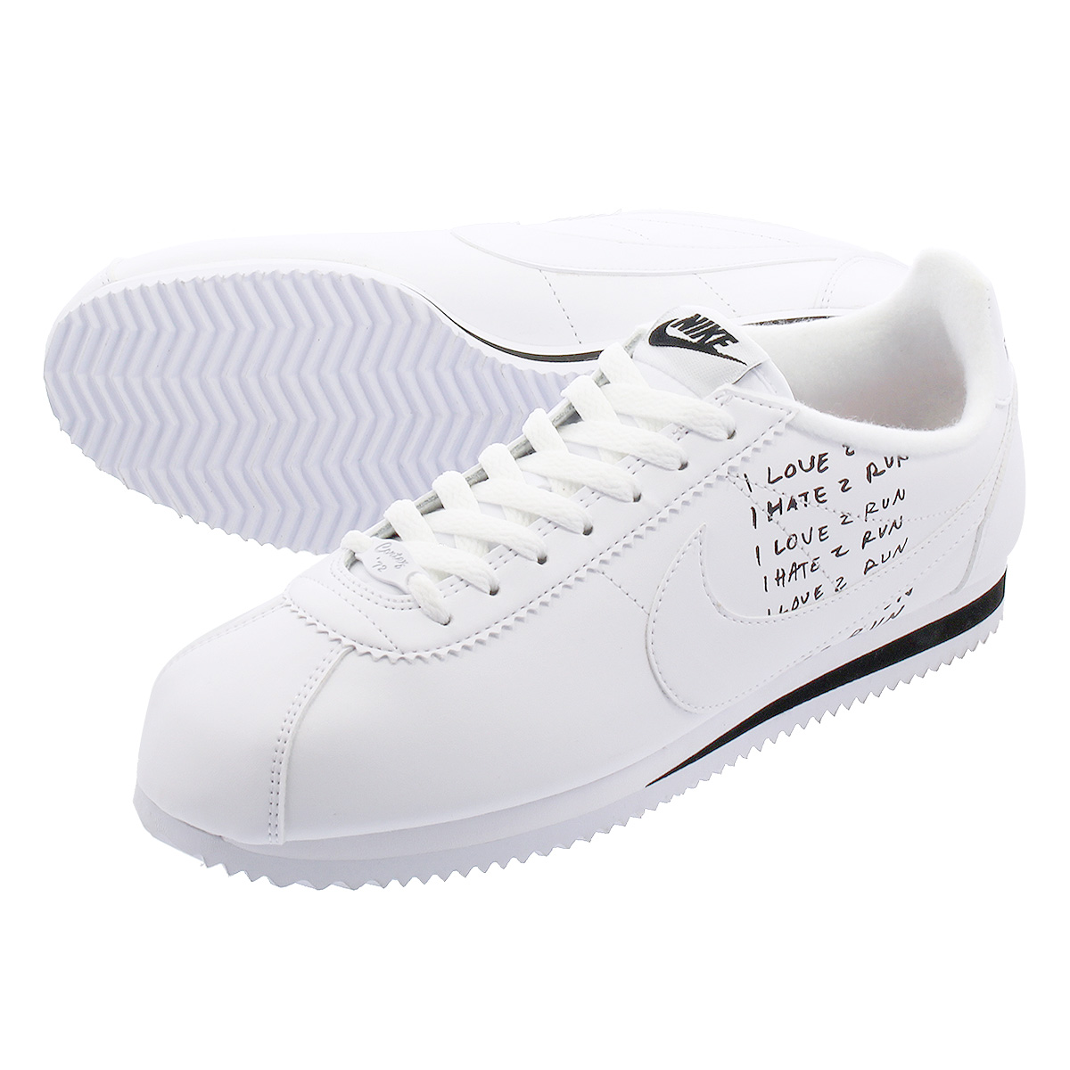 cheap prices los angeles casual shoes NIKE CLASSIC CORTEZ ナイキクラシックコルテッツ WHITE/BLACK/PINK FOAM bv8165-100