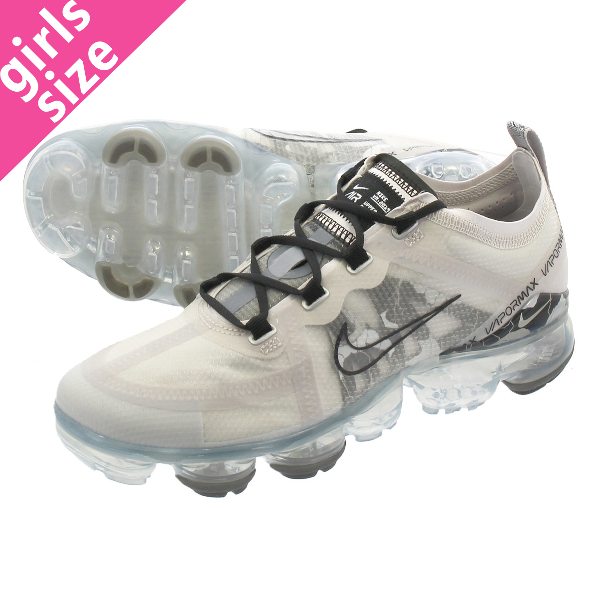buy popular 1a18e ddb90 NIKE WMNS AIR VAPORMAX 2019 SE Nike women vapor max 2019 SE VAST  GRAY/BLACK/METALLIC SILVER cd7094-001